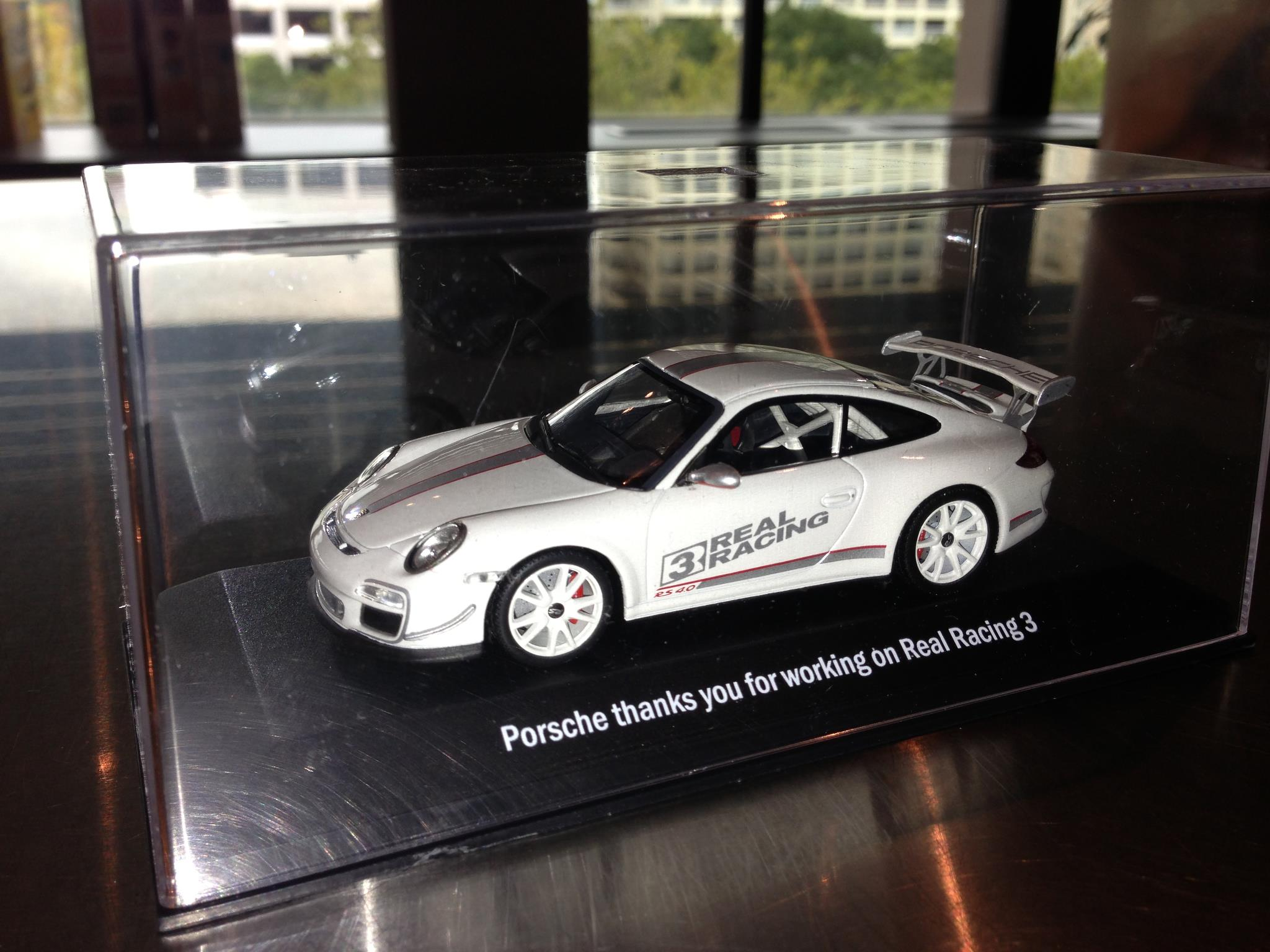 Porsche gift to Real Racing 3 developers