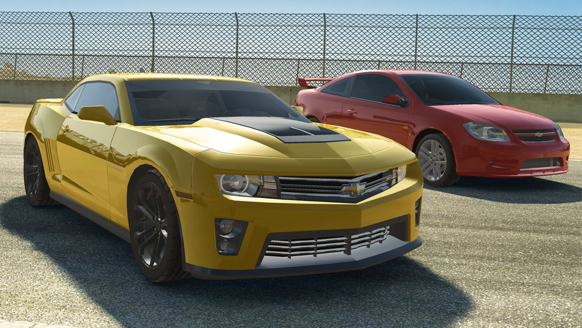 Real Racing 3 (Chevrolet Camaro ZL1 and Cobalt SS)