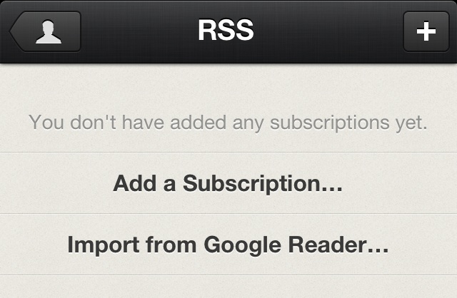 Reeder RSS Standalone