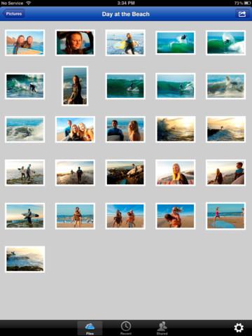 SkyDrive 3.0 for iOS (iPad screenshot 002)