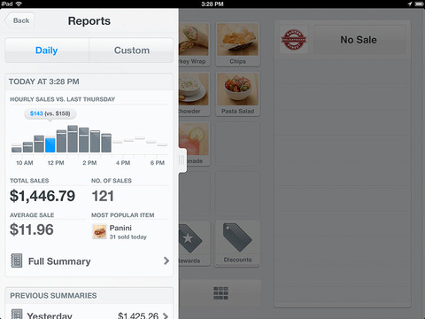 Square Register 3.0 for iOS (iPad screenshot 005)