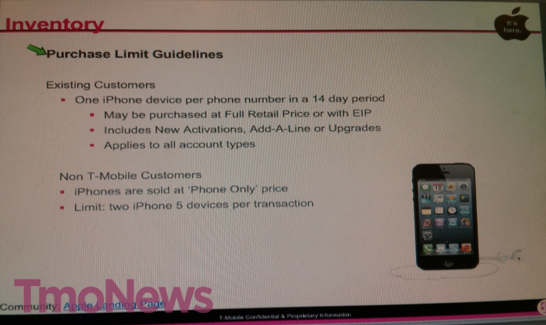 T-Mobile iPhone launch documents (TmoNews 001)
