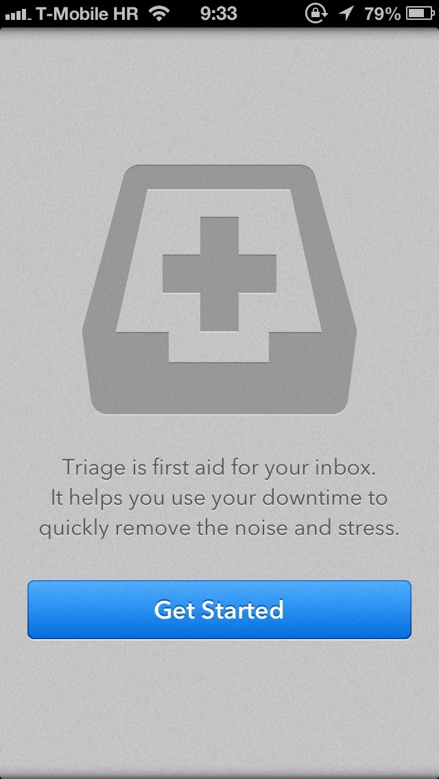 Triage 1.0 for iOS (iPhone screenshot 001)