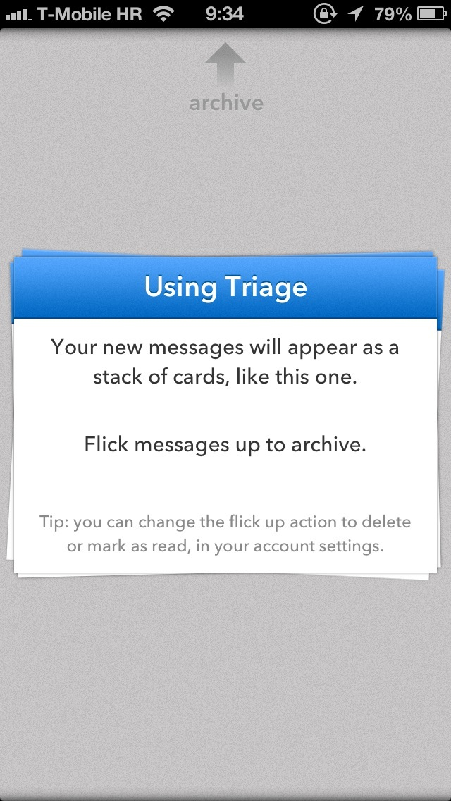 Triage 1.0 for iOS (iPhone screenshot 003)