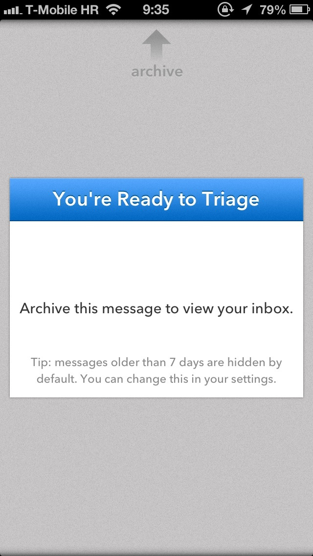 Triage 1.0 for iOS (iPhone screenshot 004)