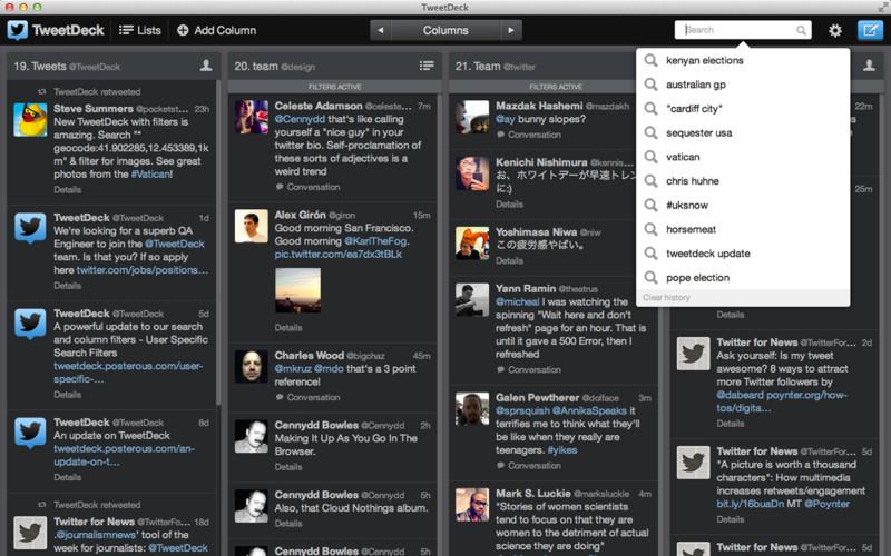 TweetDeck (Mac screenshot 001)
