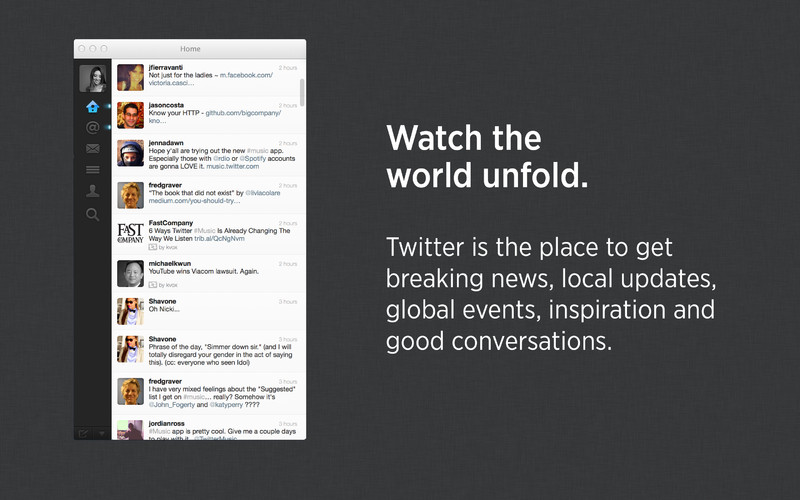 Twitter 2.2 (Mac screenshot 001)