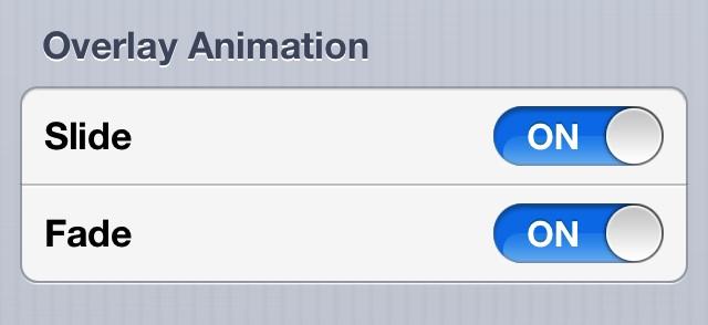 TypeStatus Overlay Animation