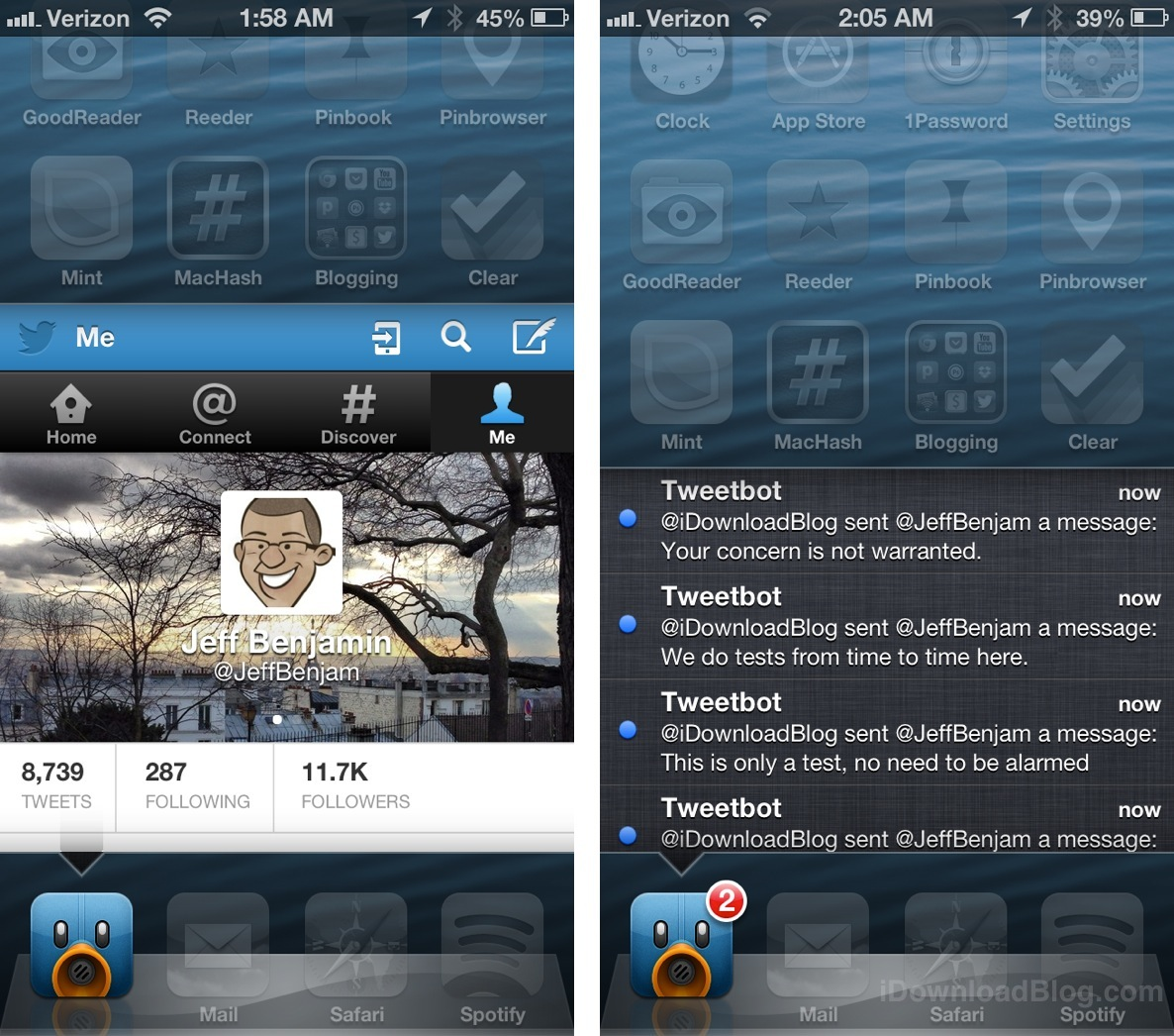 Velox Tweetbot and Twitter