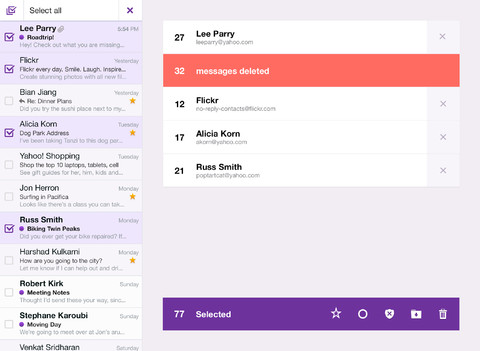 Yahoo Mail 1.5 for iOS (iPad screenshot 003)