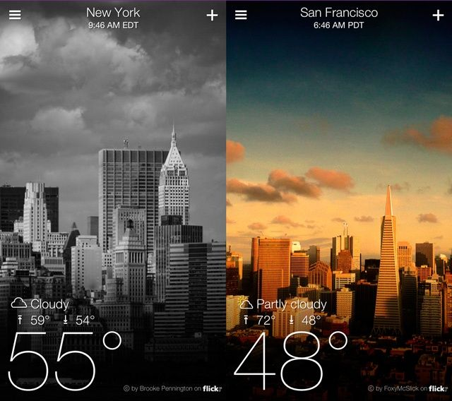 Yahoo Weather 1.0 for iOS (iPhone screenshot 007)