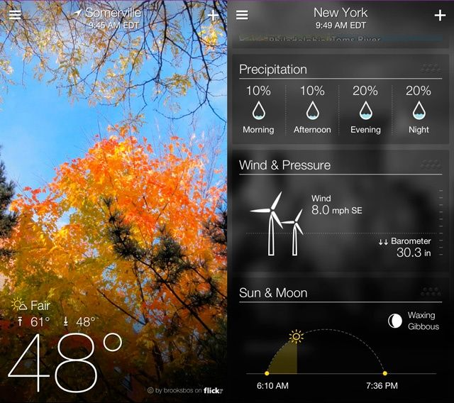 Yahoo Weather 1.0 for iOS (iPhone screenshot 008)