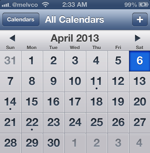 How To Quickly Navigate Through The Ios Calendar App