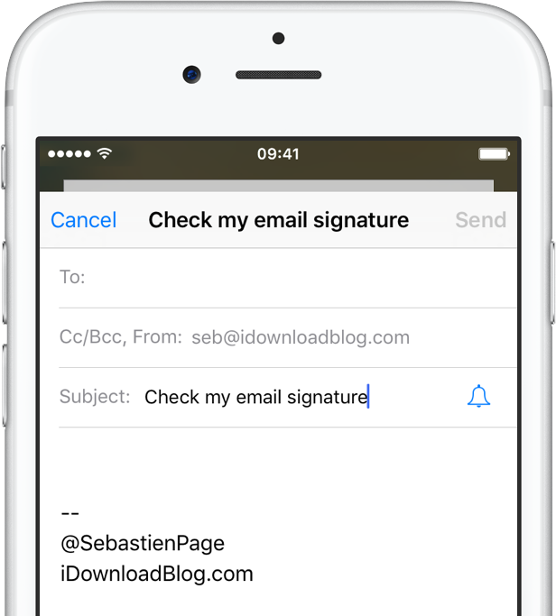 iphone email signature how to set up email signatures on your iphone or 11814