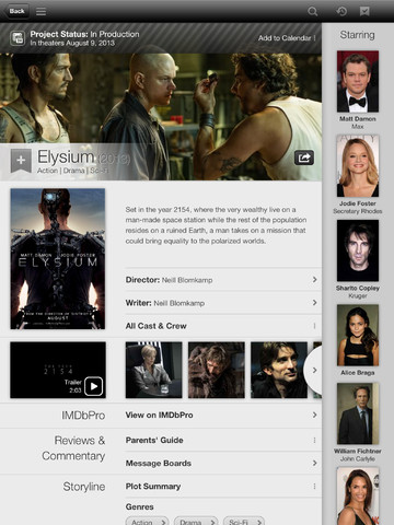 iMDB 3.2 for iOS (iPad screenshot 004)