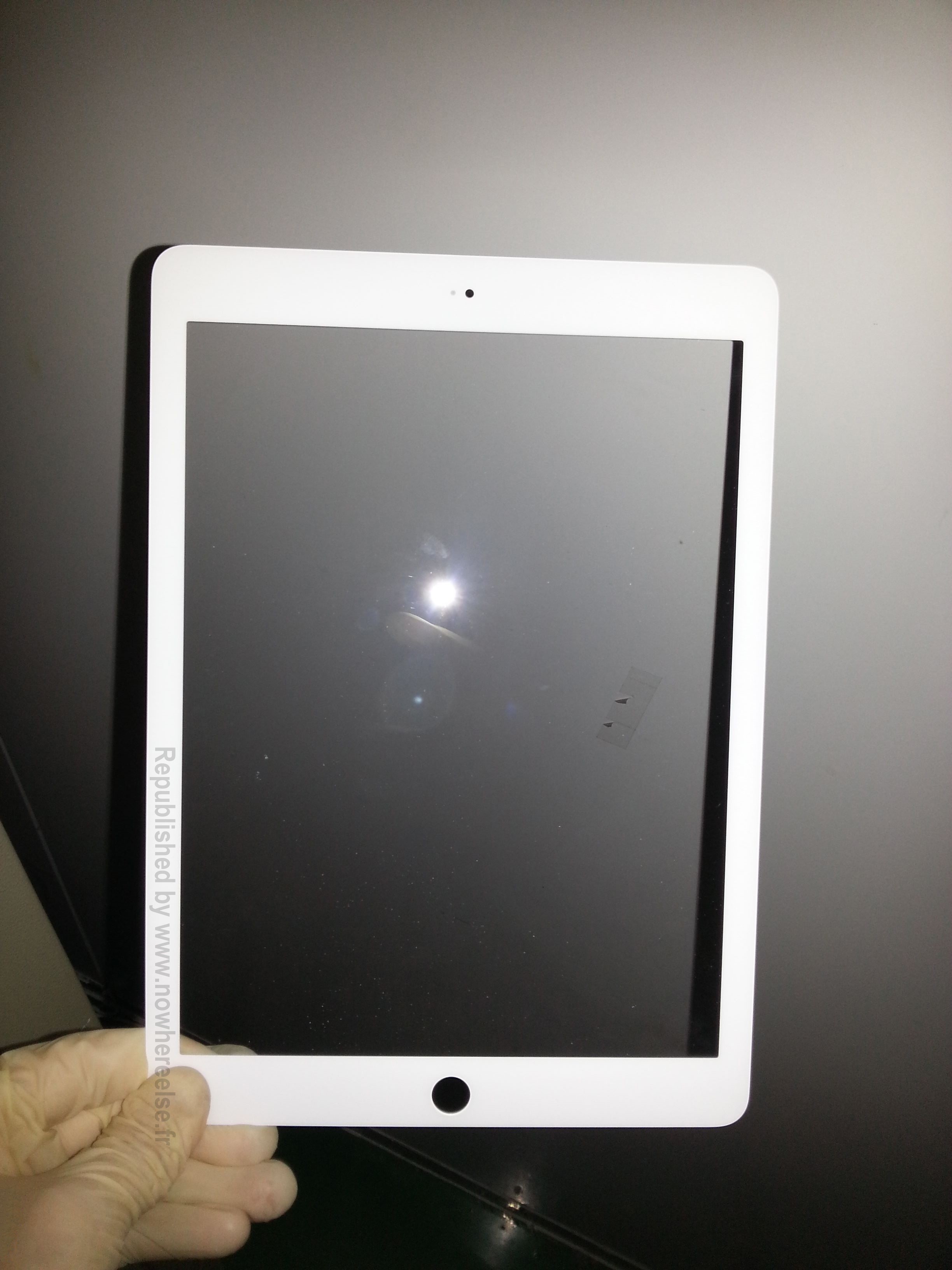 iPad 5 front panel (NowhereElse 002)