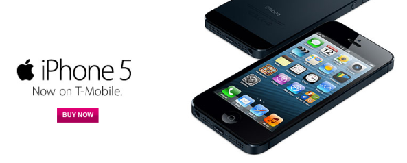 iPhone 5 now on T-Mobile
