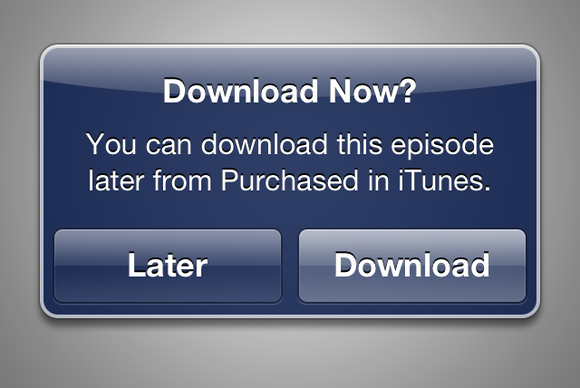 apple adds new later download option for itunes media purchases