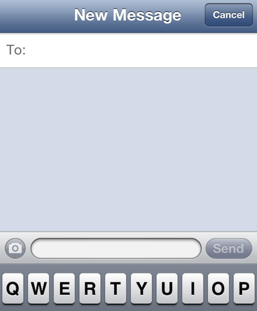 messages quick compose
