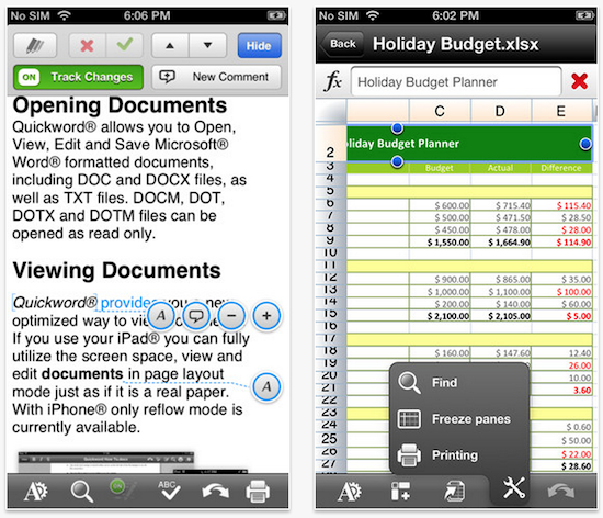 quickoffice app