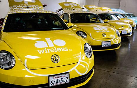 AIO Wireless cars