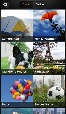 Amazon Cloud Drive Photos 1.0 for iOS (iPhone screenshot 001)