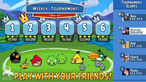 Angry Birds Friends 1.0 for iOS (iPhone screenshot 002)