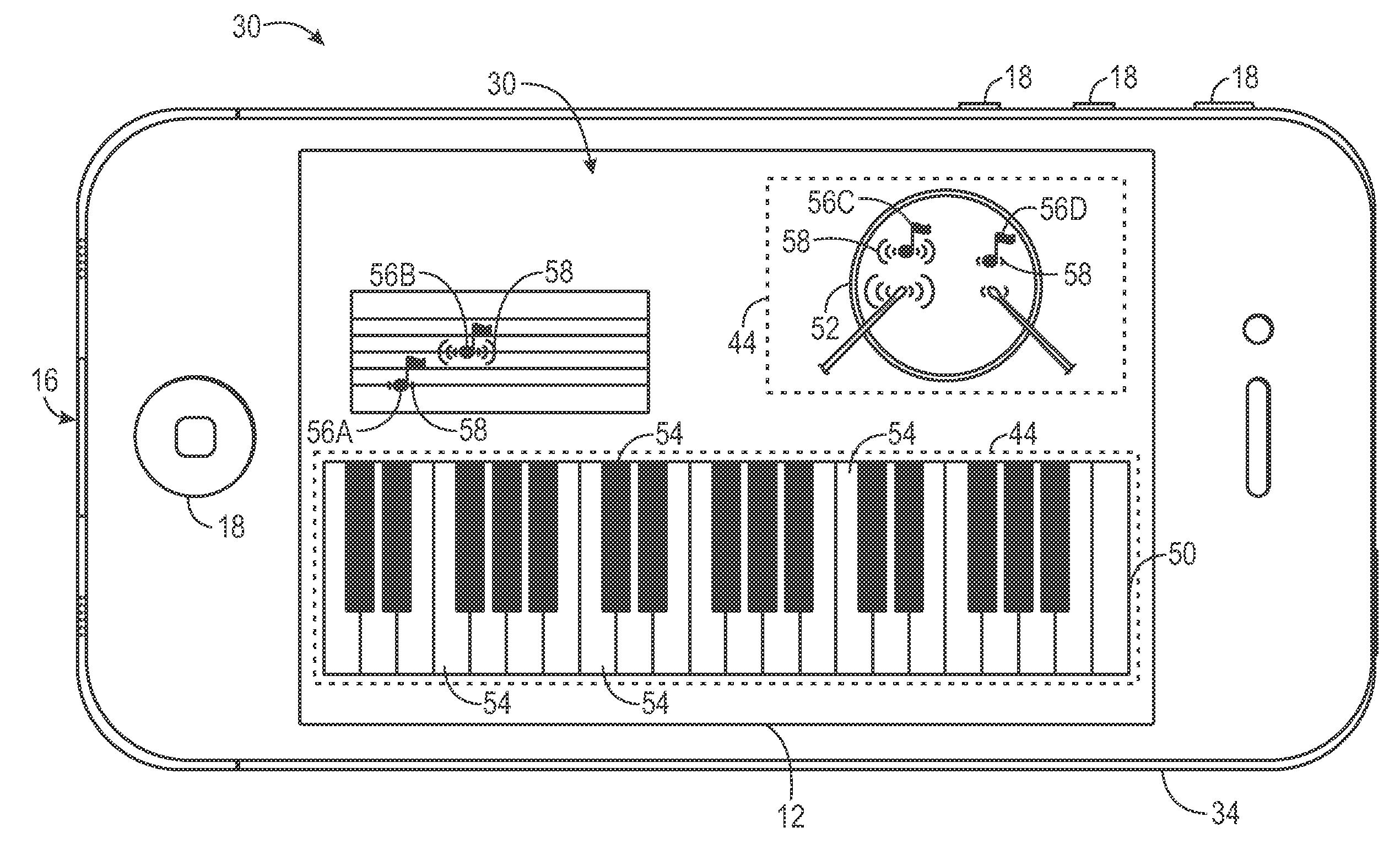 Apple patent (interactive flexi display 002)