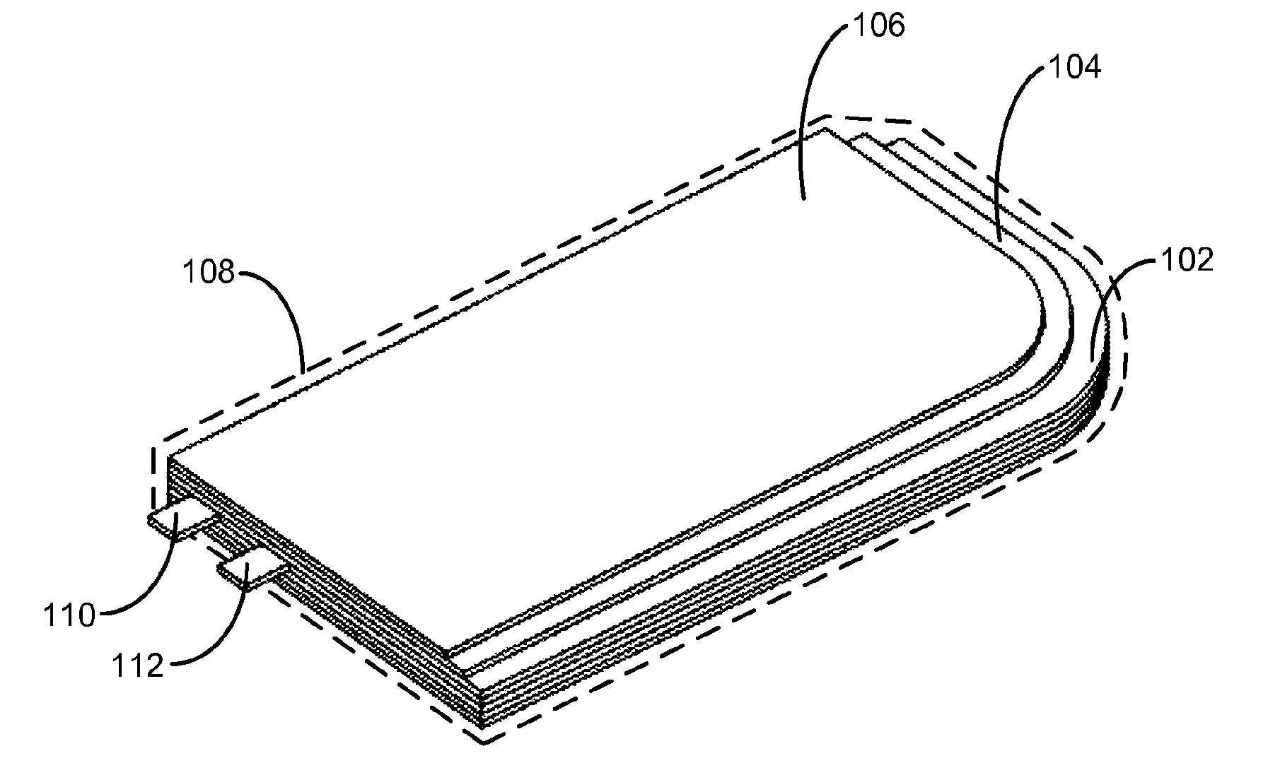 Apple patent rounded battery (drawing 001)