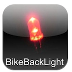 Bicycle Bike Back Safety Flashlight Icon