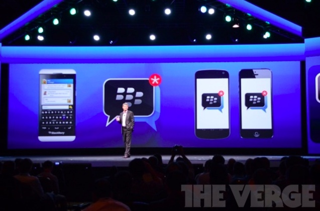 BlackBerry Messenger coming to iOS (The Verge 001)
