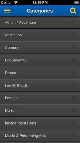 Blockbuster 2.0 for iOS (iPhone screenshot 002)