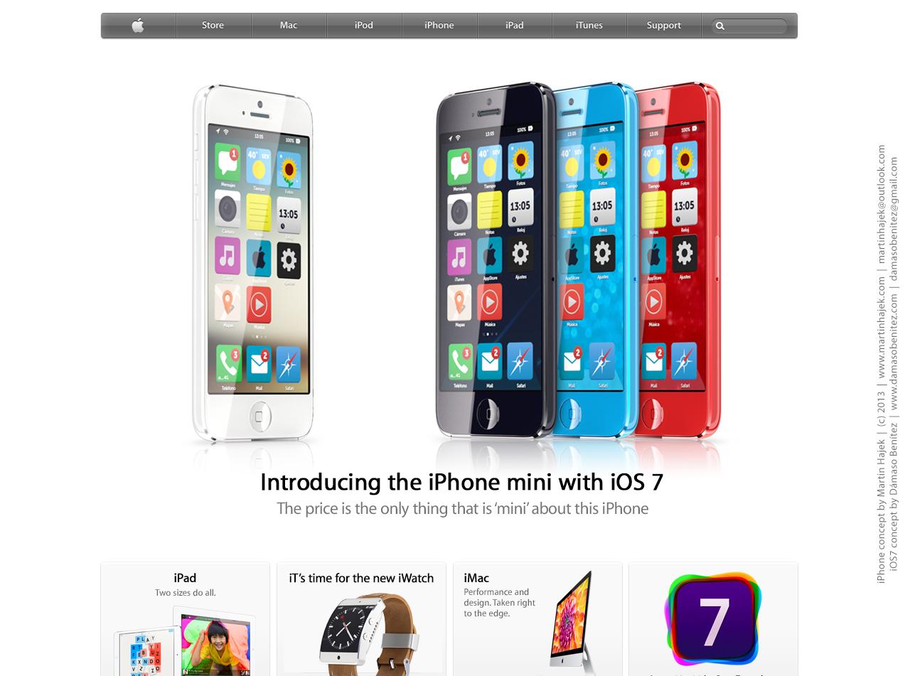 Budget iPhone concept (iOS 7, Martin Hajek 002)