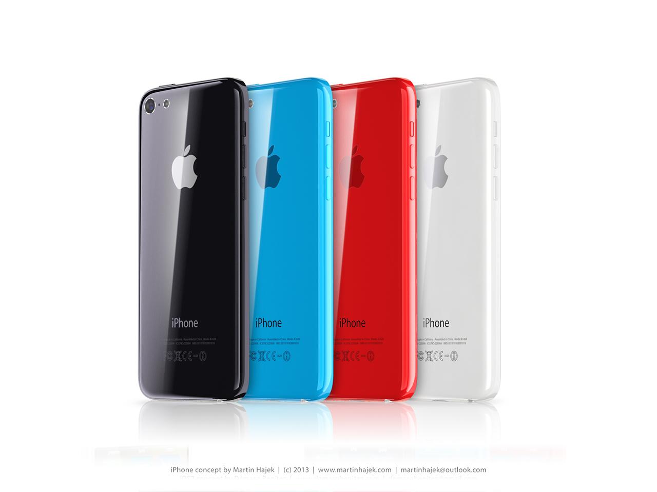 Budget iPhone concept (iOS 7, Martin Hajek 004)