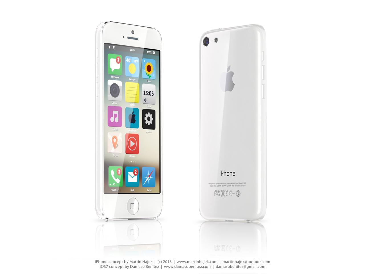 Budget iPhone concept (iOS 7, Martin Hajek 005)