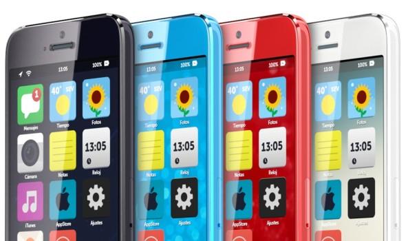 Budget iPhone concept (iOS 7, Martin Hajek, teaser)