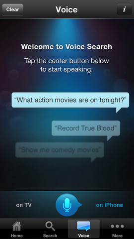DirecTV 2.5 for iOS (iPhone screenshot 001)
