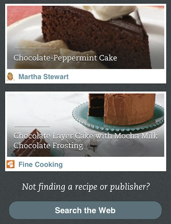 Evernote Food 2.2.2 for iOS (iPhone screenshot 001)