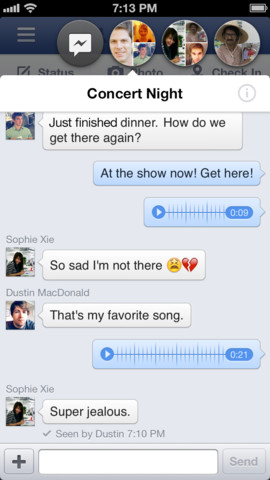 Facebook 6.1 for iOS (iPhone screenshot 002)