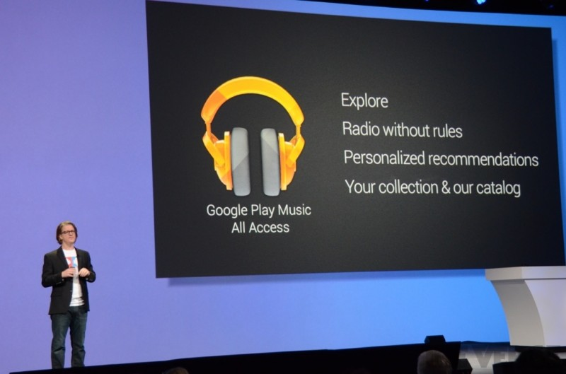 Google Play Music All Access (slide 002)