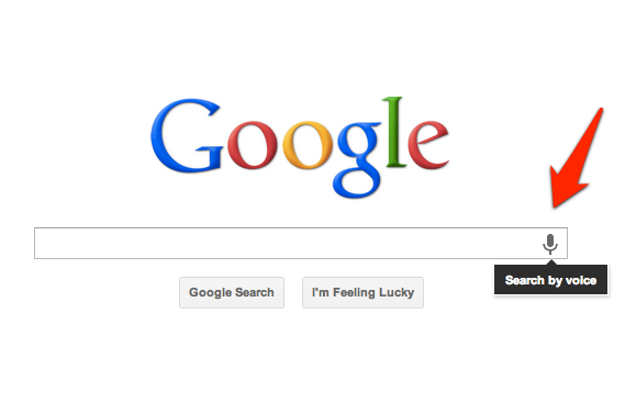 Google Voice Search (homepage 002)