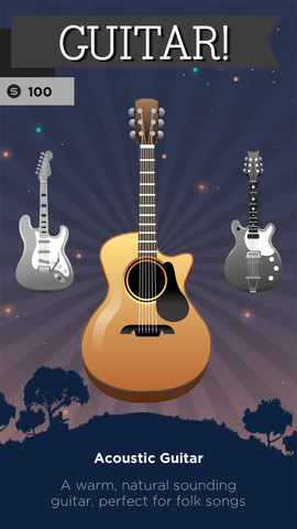 Guitar by Smule (iPhone screenshot 003)