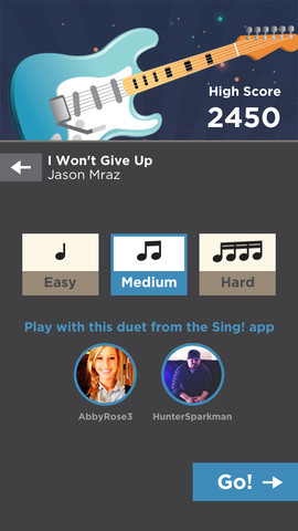 Guitar by Smule (iPhone screenshot 005)