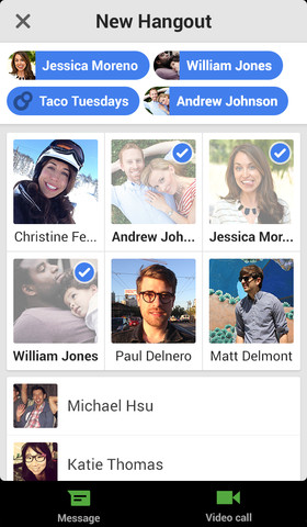 Hangouts 1.0 for iOS (iPhone screenshot 004)
