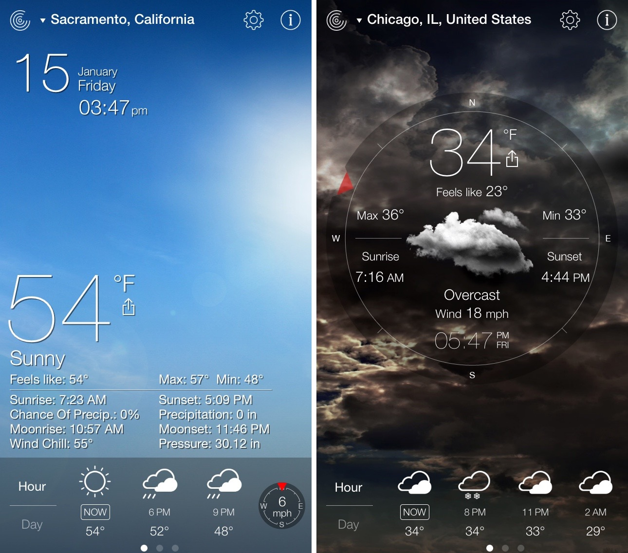 The best weather apps for iPhone