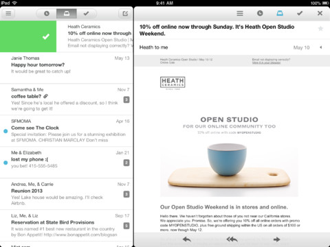 Mailbox 1.3 for iOS (iPad screenshot 001)