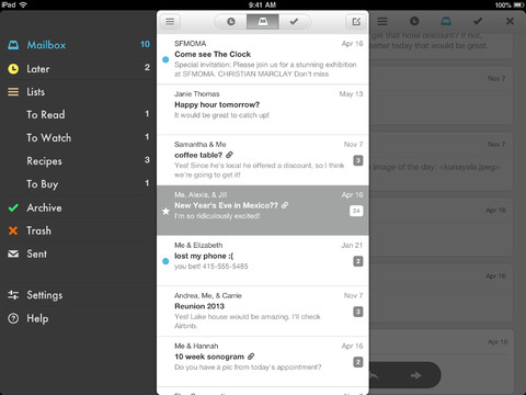 Mailbox 1.3 for iOS (iPad screenshot 003)