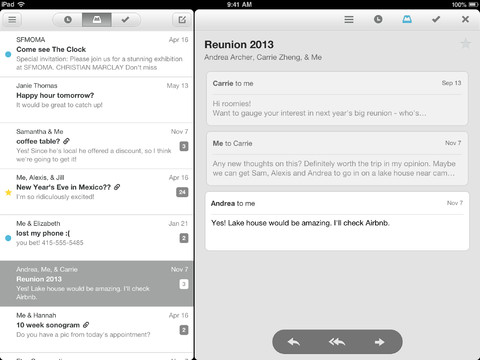 Mailbox 1.3 for iOS (iPad screenshot 004)