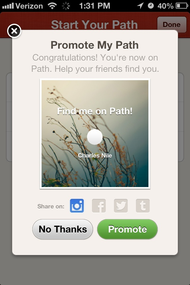 Path (Promote My Path)