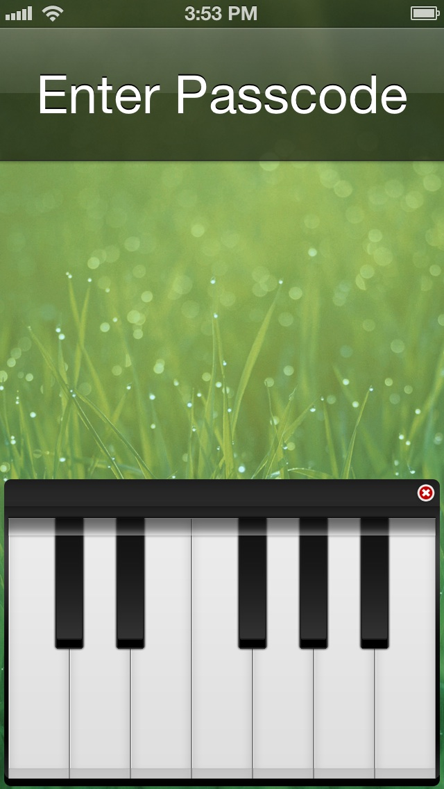 Piano Passcode Featured